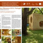MUD, Jardins Efémeros 2015, Portugal: ephemeral installation in rammed earth, for ephemeral garten festival (from the technical challenge to the consciousness of the place). VASCONCELOS Nuno, MARQUES Joana