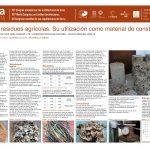Tierra y residuos agrícolas. Su utilización como material de construcción. CABRERA Santiago, TOSTI Sofia, GONZALEZ Ariel