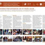 La Universidad intercambiando con el medio social. GONZALEZ Ariel, COSTAMAGNA Pablo, VENTURINI German