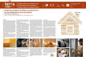 Projet de création de filière d'enduit terre locale, de sensibilisation et de formation. MICHEL PHILIPPO & LESA EMMANUELLE