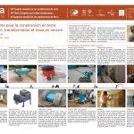 Équipements pour la construction en terre Préparation, transformation et mise en oeuvre. SOLSONA Noé